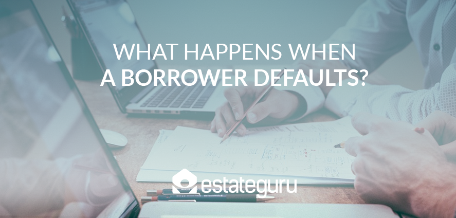 What happens when a borrower defaults?