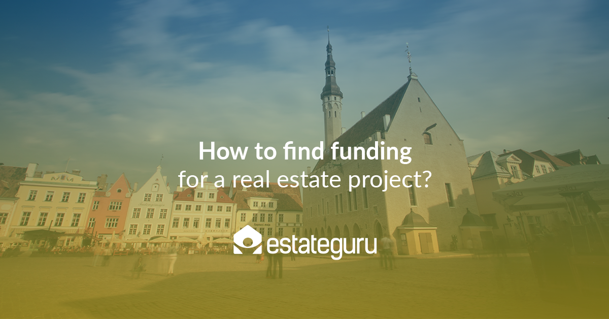 How to find funding for a real estate project?