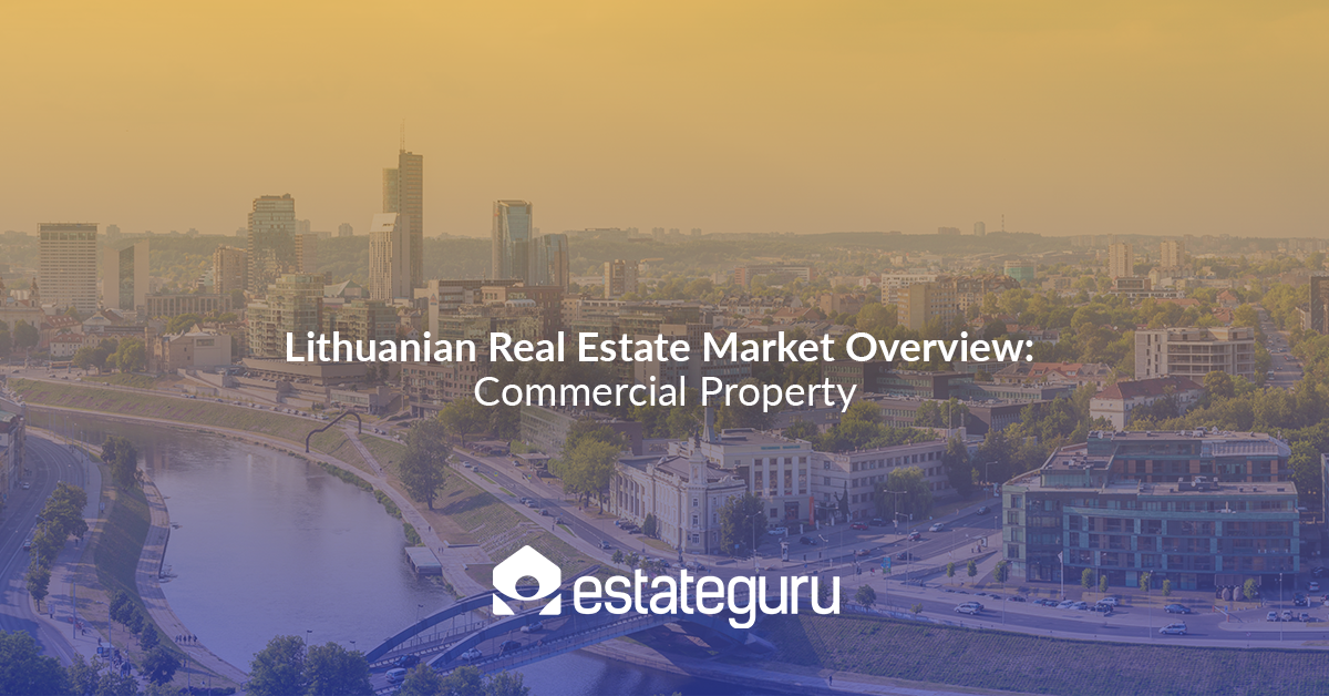 Lithuanian Real Estate Market Overview: Commercial Property, Coworking spaces