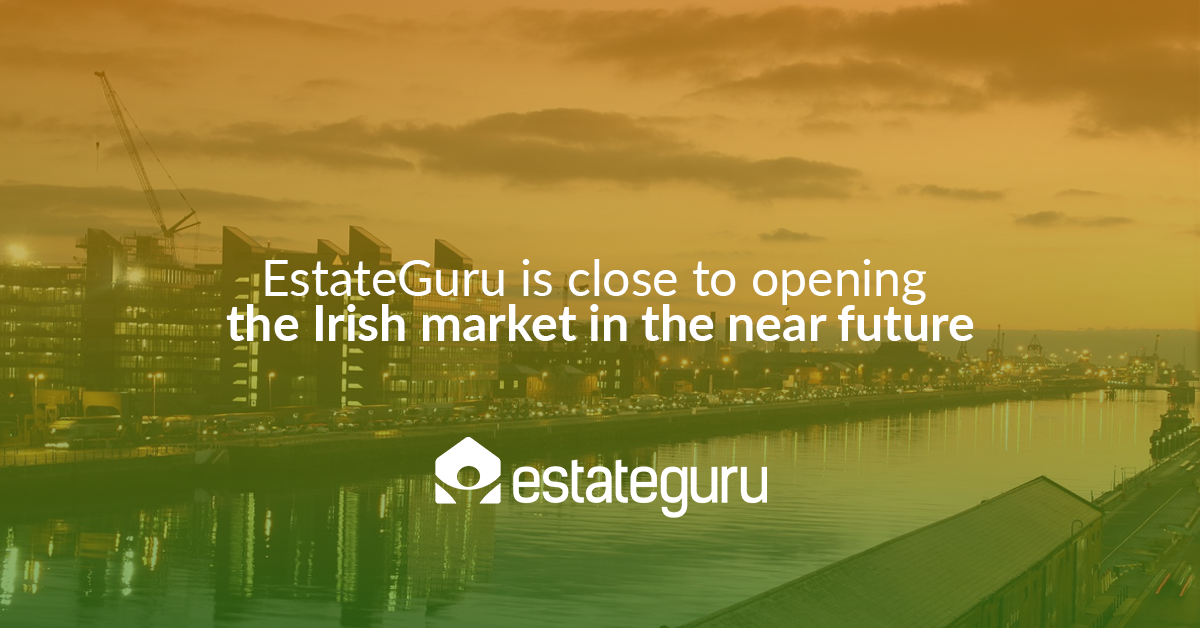EstateGuru is close to opening the Irish market in the near future