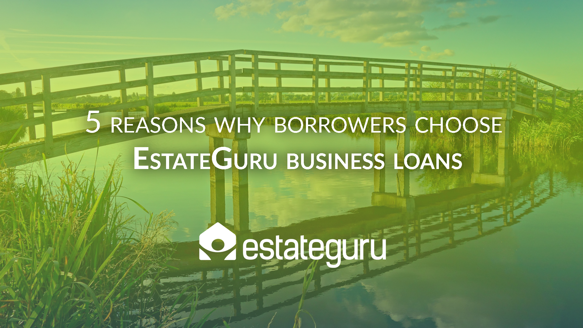 5 reasons why borrowers choose EstateGuru business loan