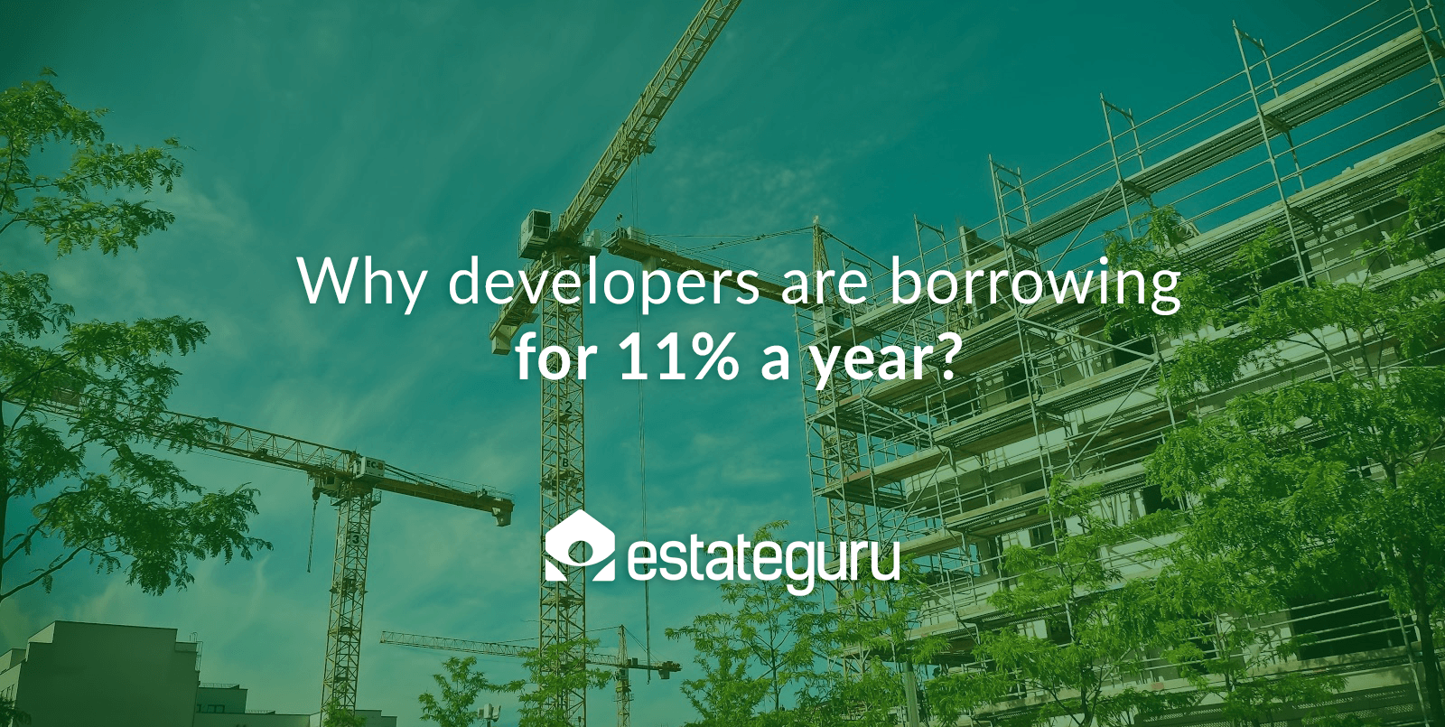 Why developers are borrowing for 11% a year?