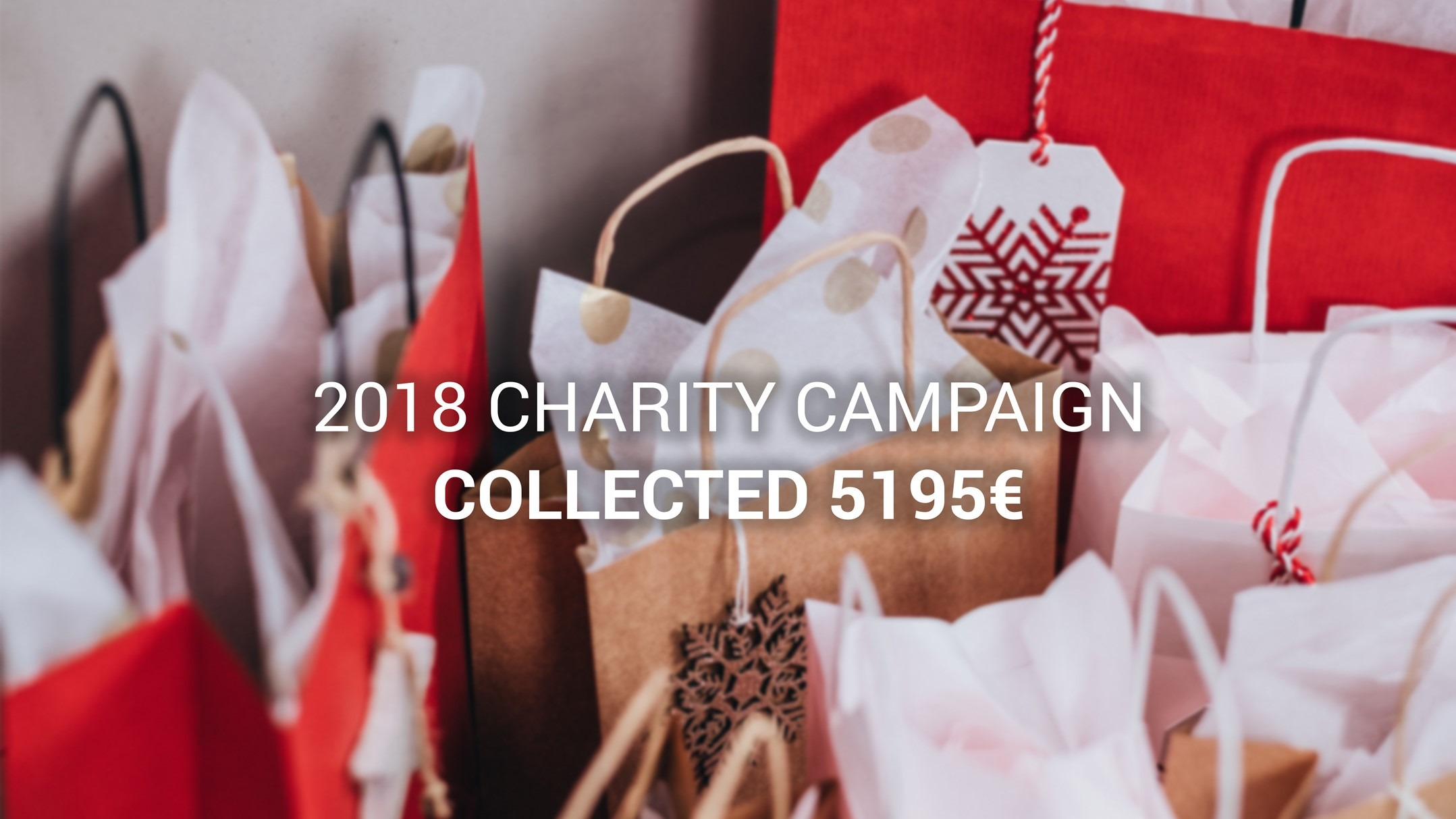 EstateGuru's 2018 festive charity drive was a huge success