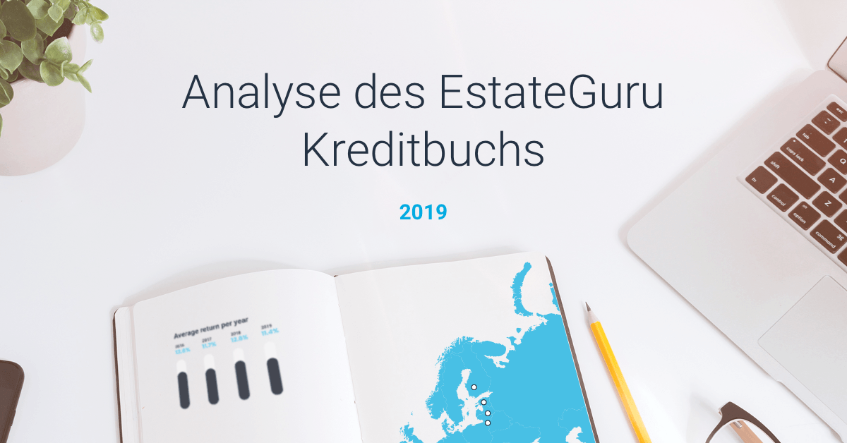 Analyse des EstateGuru Kreditbuchs – 2019