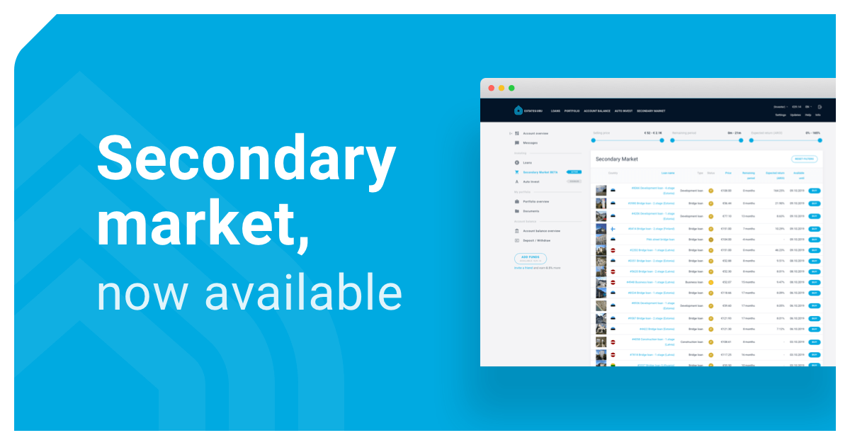 The Secondary Market – A User's Guide