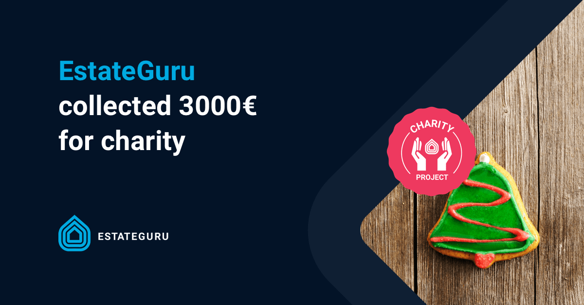 EstateGuru collected €3000 for charity