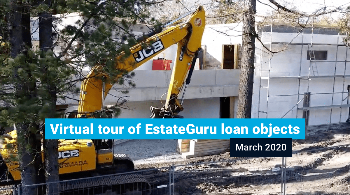 Virtual tour of EstateGuru loan objects in March 2020