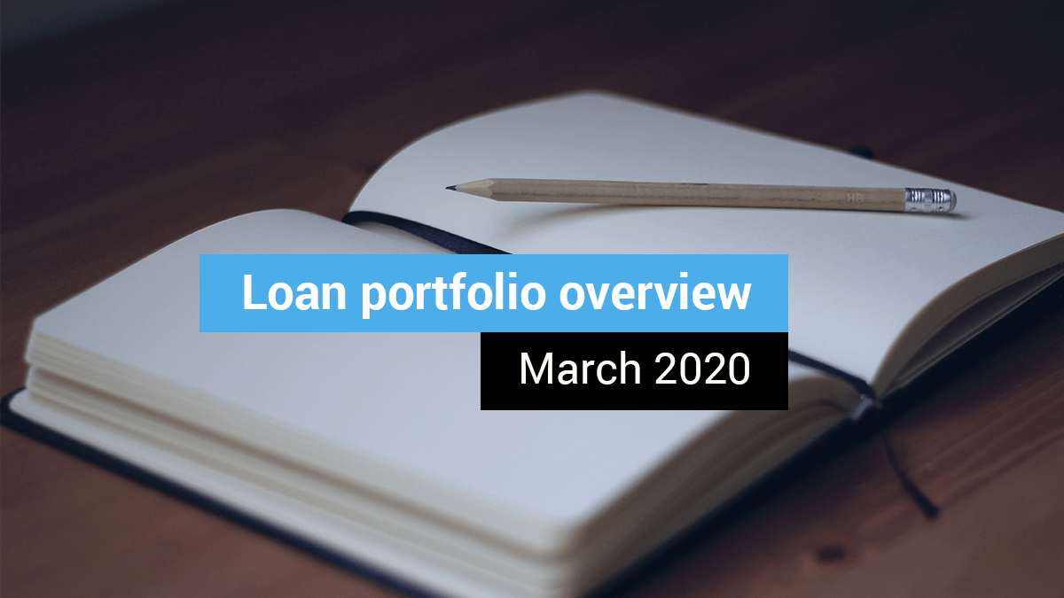 Loan portfolio overview (March 2020)