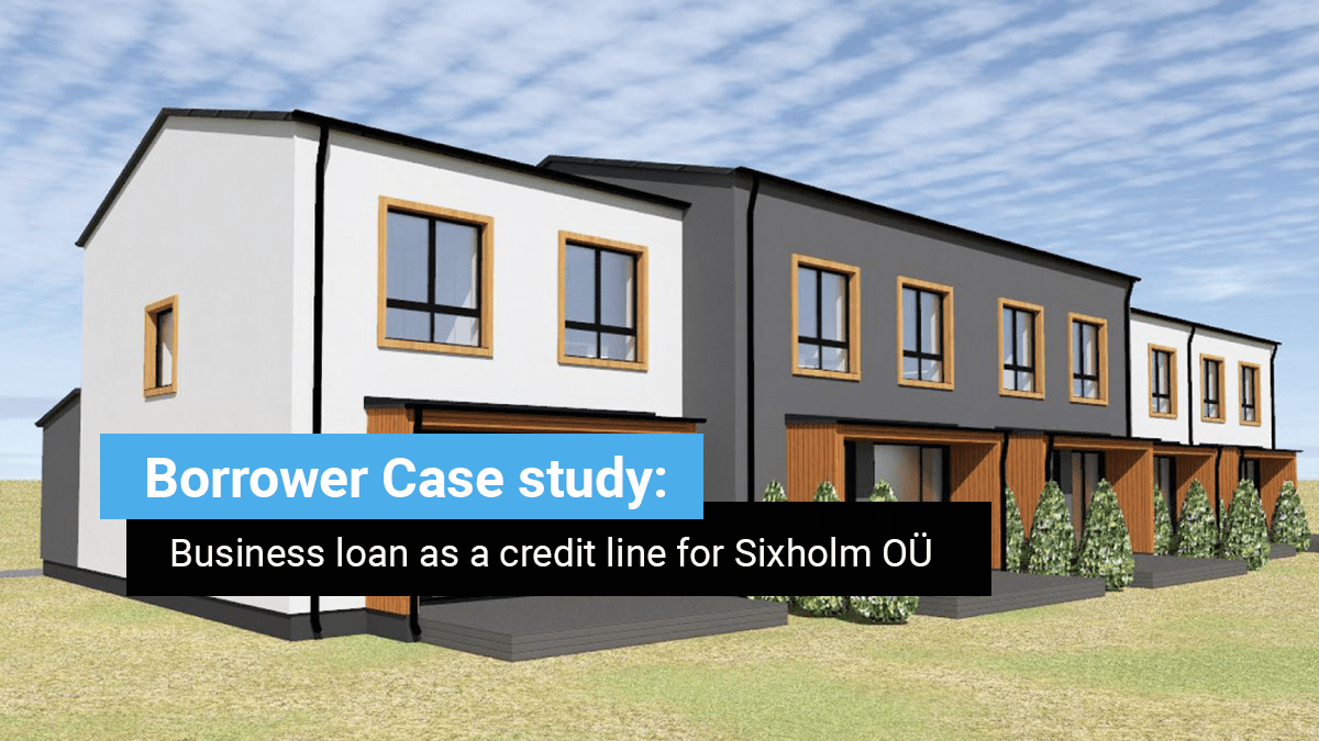 Borrower case study: Business loan as a credit line for Sixholm OÜ