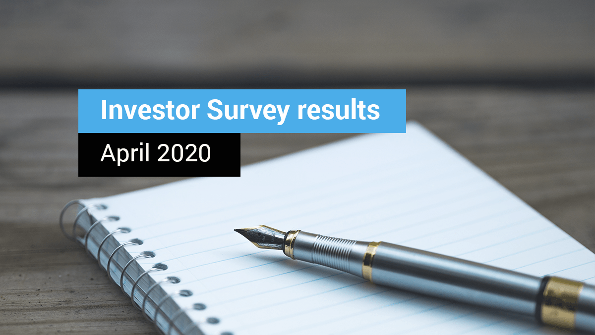 April 2020 EstateGuru Investor Survey results