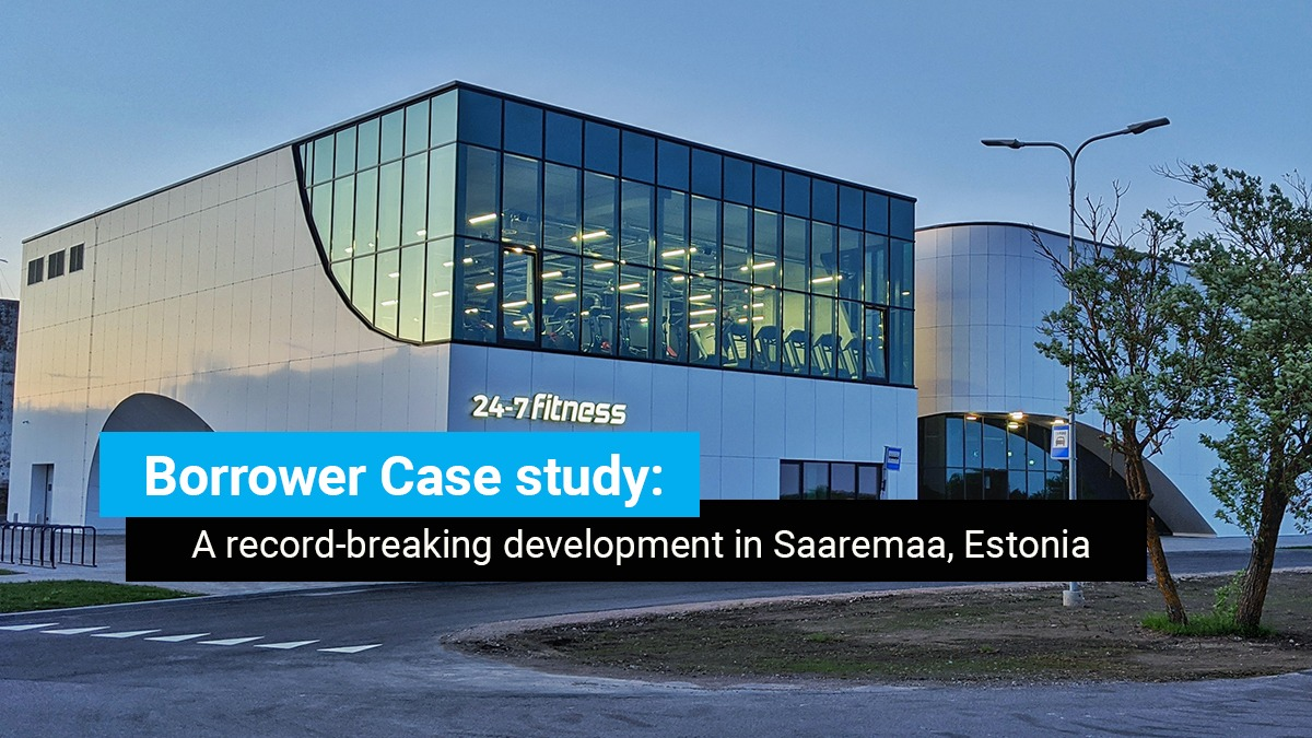 Case Study – How we financed a record-breaking development in Saaremaa, Estonia