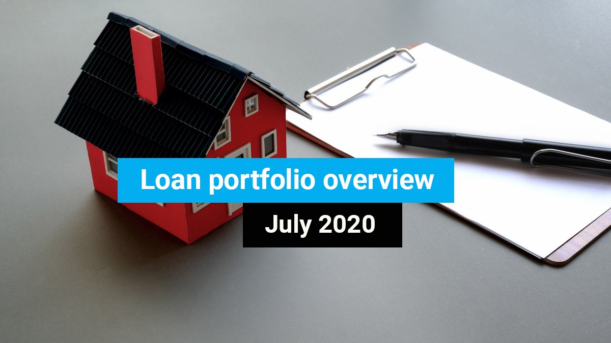 Loan portfolio overview July 2020