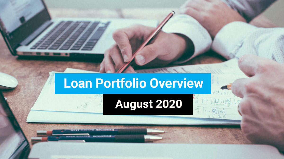 Loan portfolio overview August 2020